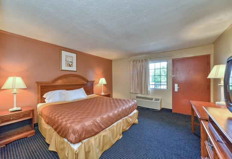 Red Carpet Inn, Stamford, Suite, 1King-Bett, Raucher, Zimmer