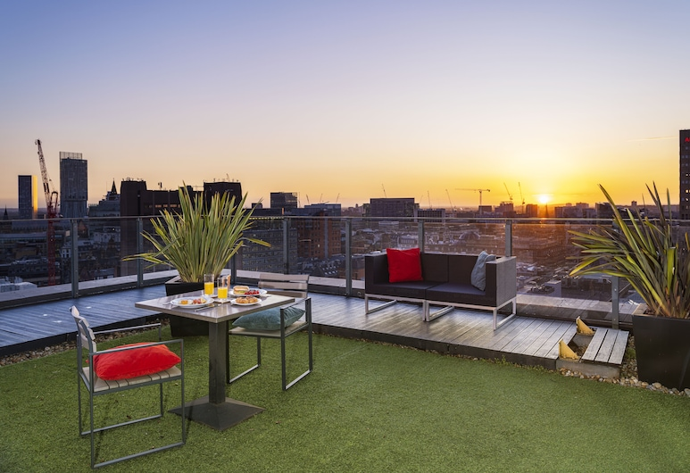 Church Street by Supercity Aparthotels, Manchester, Terrace/Patio