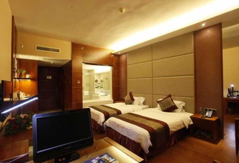 Yuanhua International Grand Hotel, Nanping, Habitación Deluxe con 2 camas individuales, Habitación