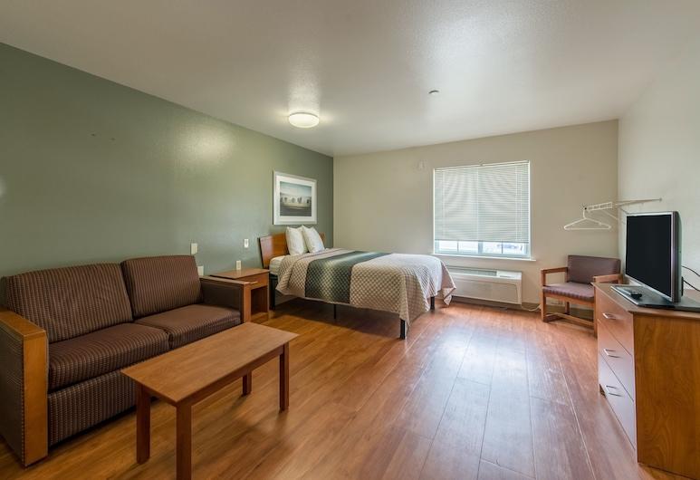 HomeTowne Studios by Red Roof Columbus, Columbus, Studio standardowe, Łóżko podwójne i sofa, dla palących, Pokój