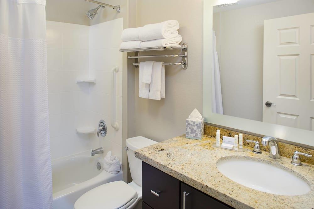 開放式客房, 2 張加大雙人床, 非吸煙房 - 浴室