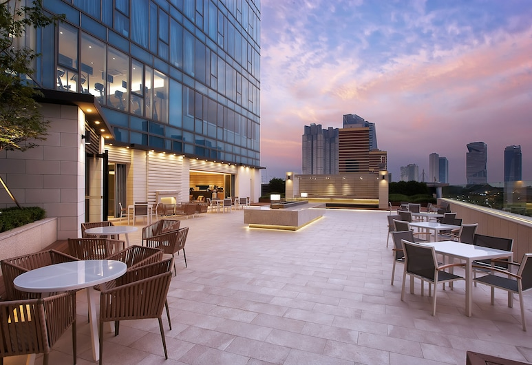 Orakai Songdo Park Hotel, Incheon, Terrasse/Patio