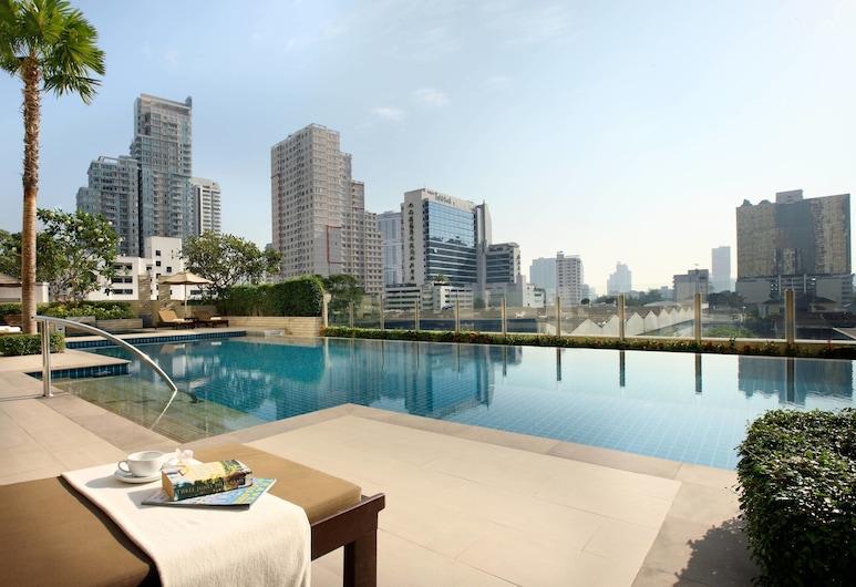 スクンビット パーク、バンコク - マリオット エグゼクティブ アパートメンツ, バンコク, 屋外プール