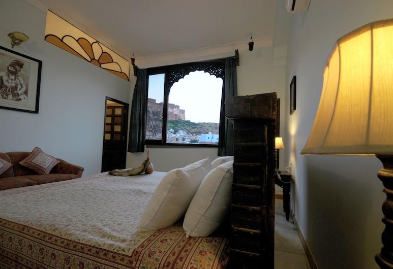 Haveli Inn Pal, Jodhpur, Chambre Deluxe, Chambre