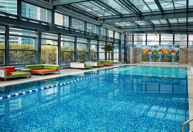 上海靜安洲際酒店, 上海市, 泳池