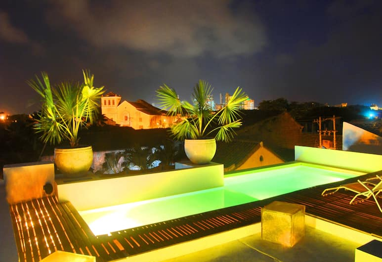 Hotel Casa Lola Deluxe Gallery, Cartagena, Rooftop Pool