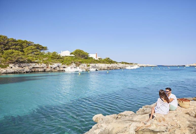 Prinsotel La Caleta Aparthotel, Ciutadella de Menorca, Beach
