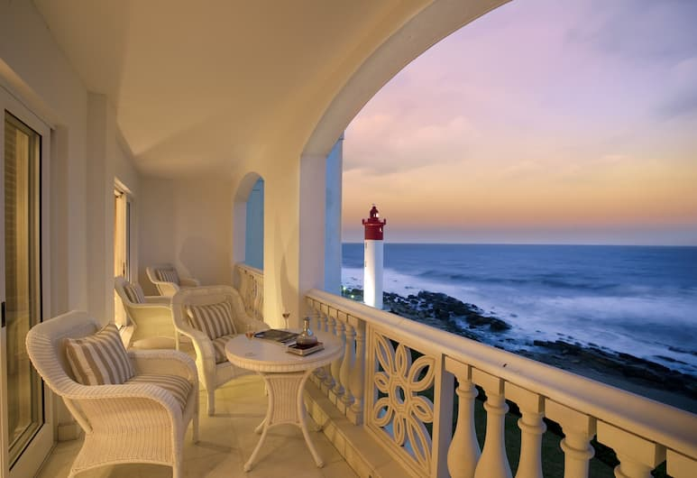 The Oyster Box, Umhlanga, Luxury Suite, Sea View, Balcony