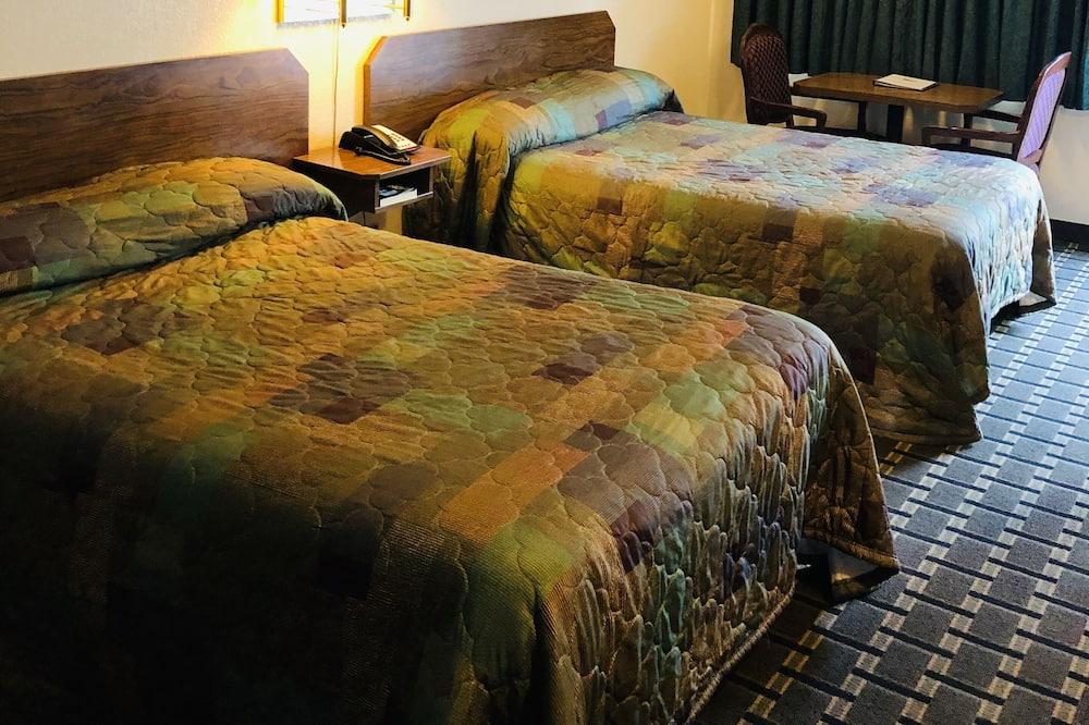 Номер, 2 двуспальные кровати «Квин-сайз», для курящих - Ванная комната