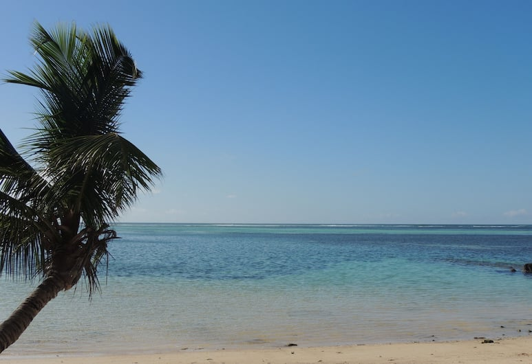 Reef Holiday Apartments, Mahe Island, Beach