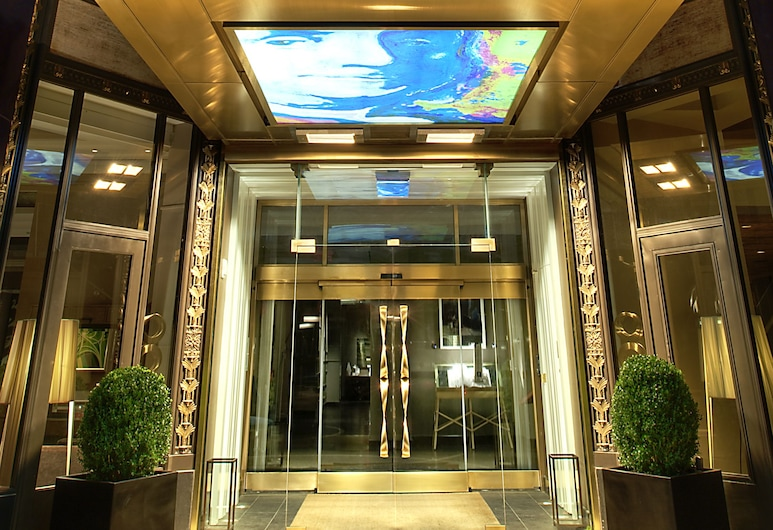 Kimpton Hotel Palomar Philadelphia, Philadelphia, Fachada del hotel de noche