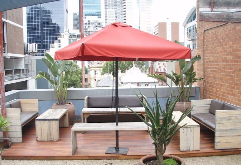 City Centre Budget Hotel, Melbourne, Terrace/Patio