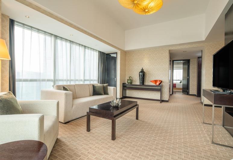 Holiday Inn Xi'an Greenland Century City, an IHG Hotel, Sianas, Karališkos klasės numeris, 1 labai didelė dvigulė lova, Svečių kambarys