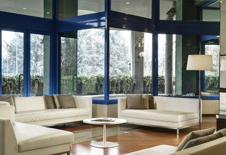 UNAWAY Hotel & Residence Quark Due Milano, Milaan, Zitruimte lobby