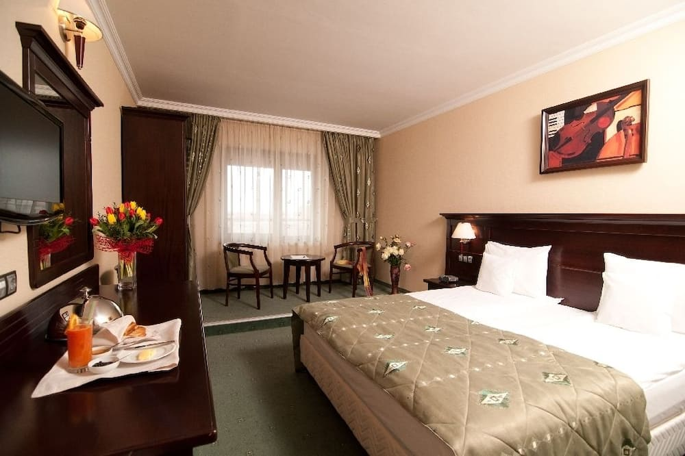 Deluxe Double or Twin Room - Ruang Tamu