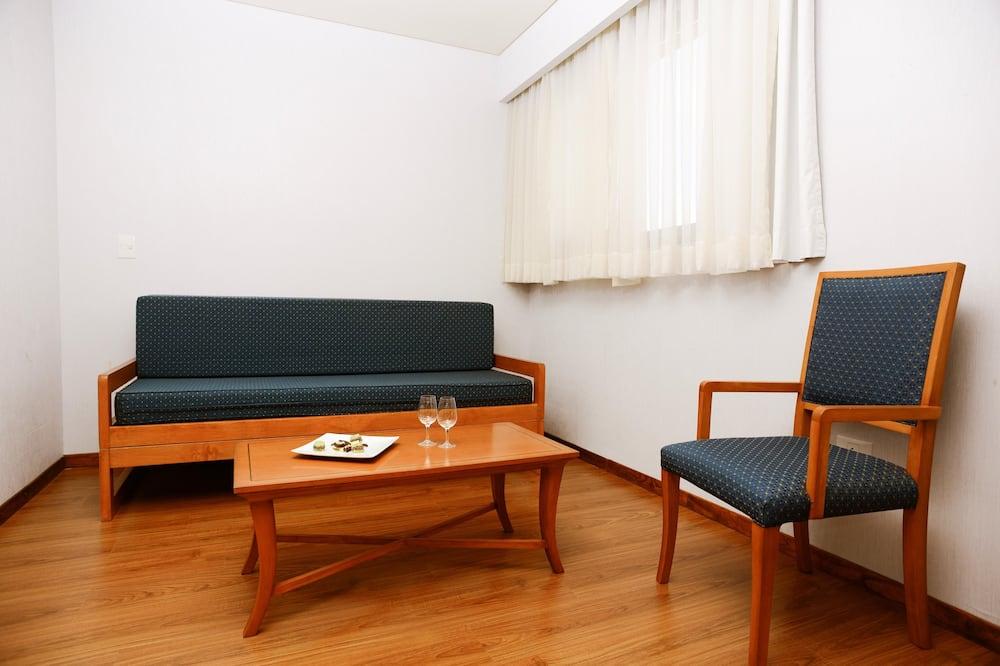 Luksusa numurs, skats uz jūru - Dzīvojamā istaba