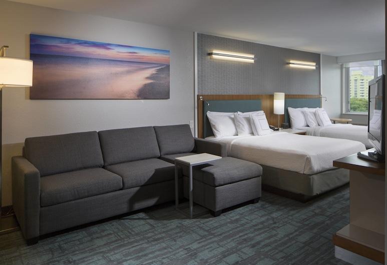 SpringHill Suites Miami Downtown/Medical Center, Miami, Studio, 2Queen-Betten, Nichtraucher, Zimmer
