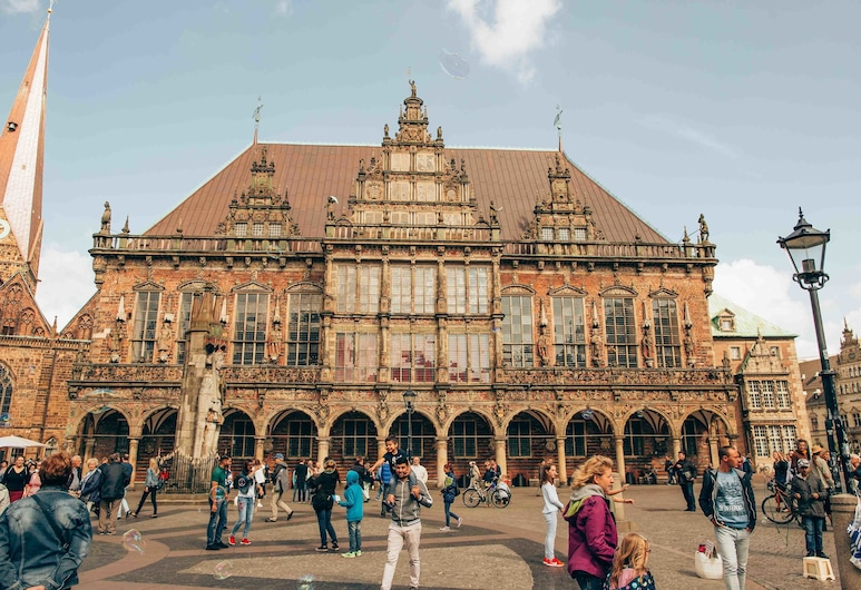 Hotel Classico, Bremen, Hotelfassade