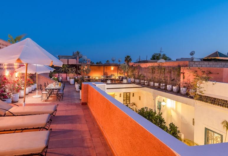 Riad Chamali, Marrakech, Terasz/udvar