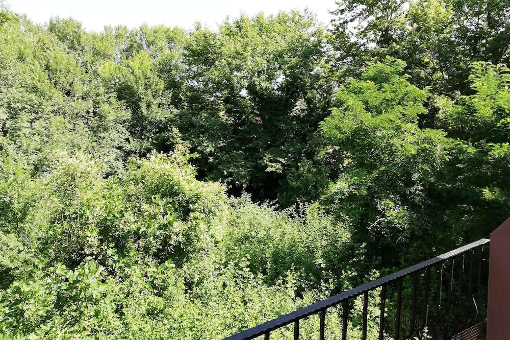 Vierbettzimmer - Blick vom Balkon