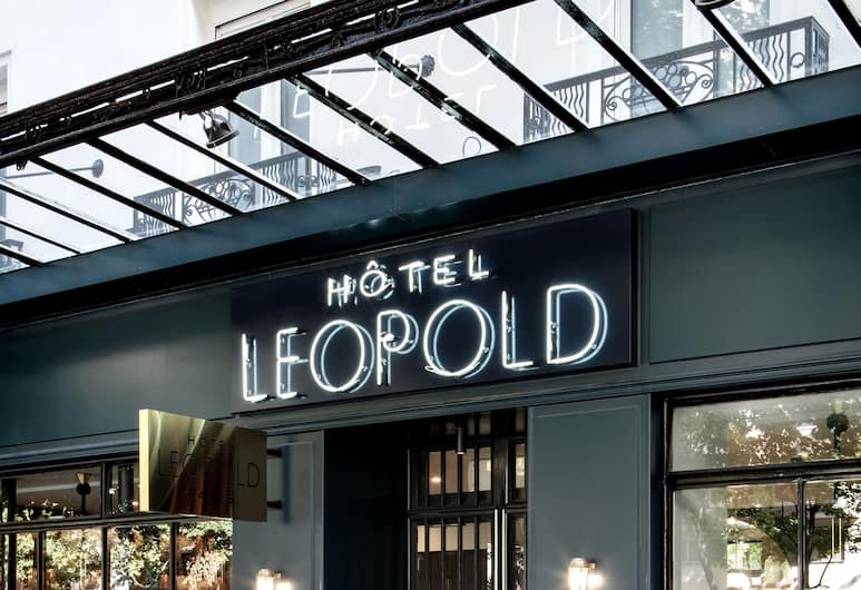 Hotel Léopold, Paris, Hotellentré