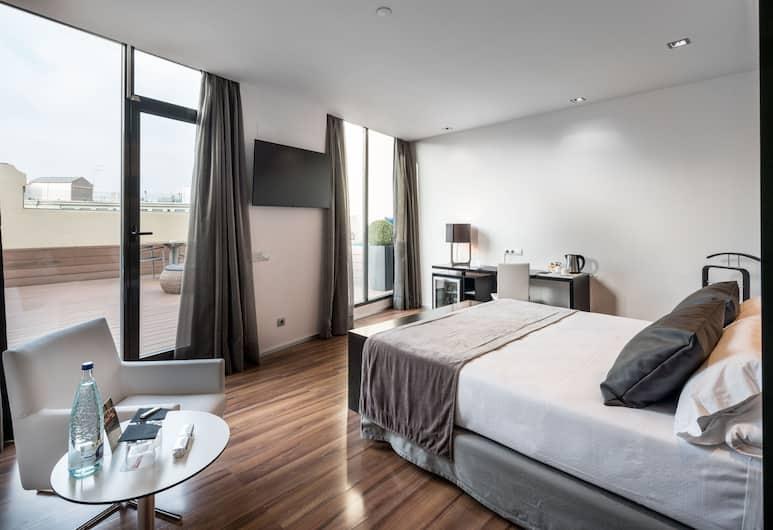Catalonia Catedral Hotel, Barcelone, Chambre Double Deluxe, piscine privée (Terrace), Chambre