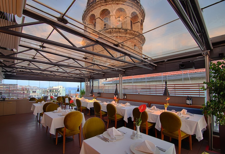 Anemon Hotel Galata - Special Class, İstanbul, Teras/Veranda
