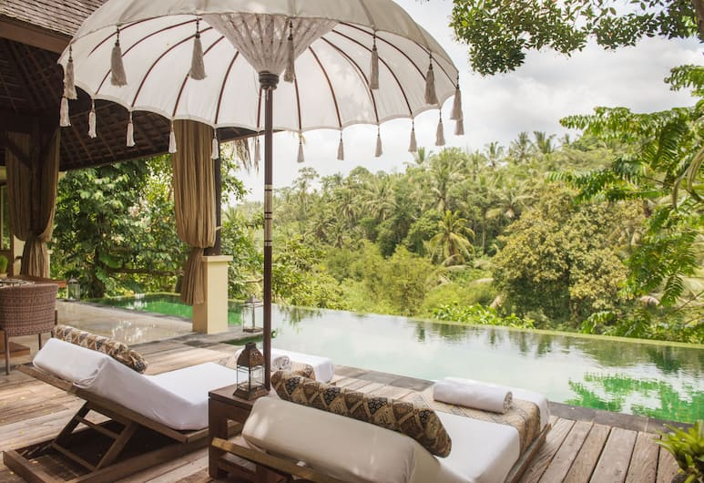 Komaneka at Bisma, Ubud, Villa - 1 sovrum - privat pool, Terrass