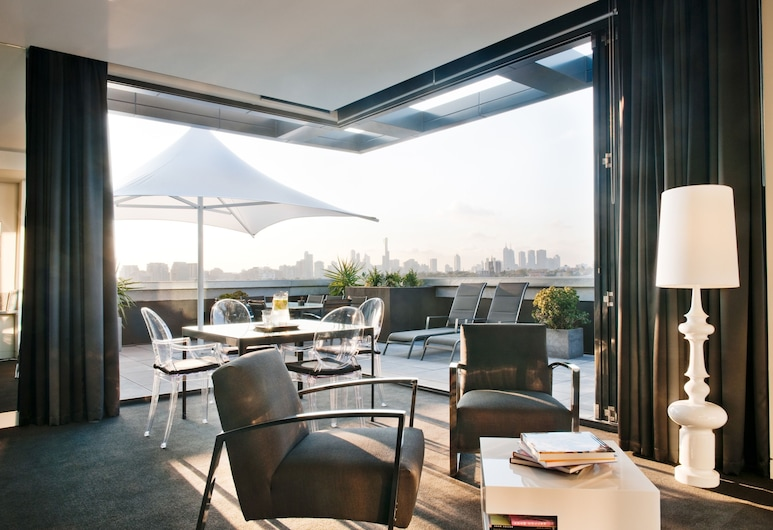Art Series - The Cullen, Prahran, Penthouse (The Cullen), Living Area