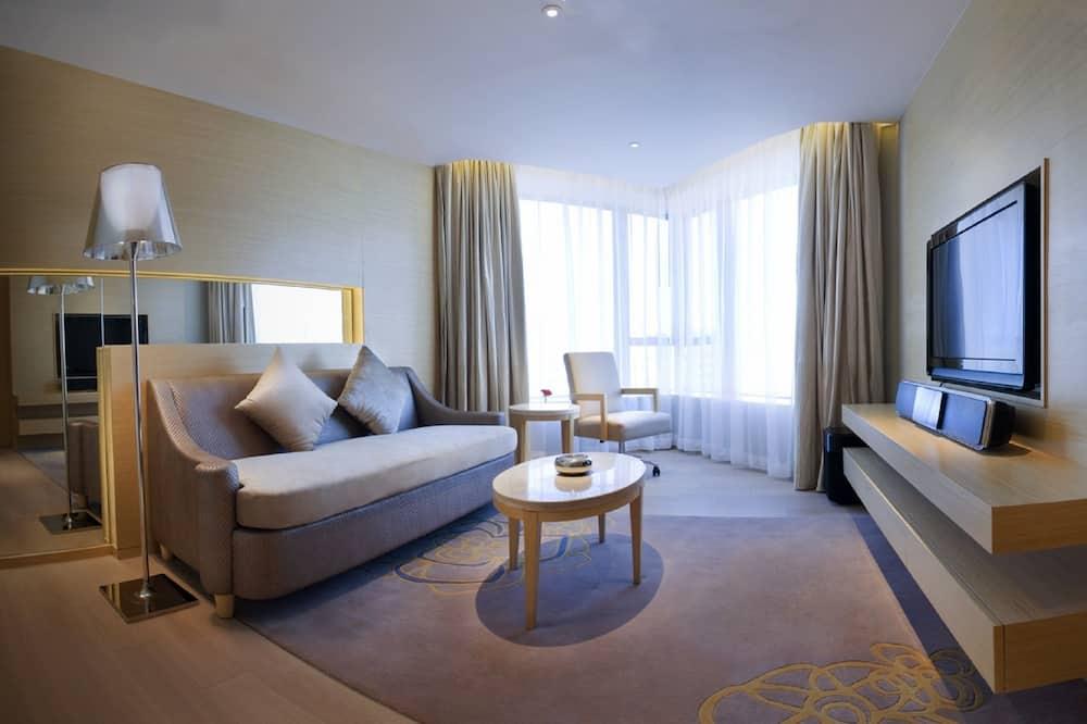 行政套房, 1 張特大雙人床 - 客廳