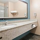 スイート キングベッド 1 台 バリアフリー 禁煙 - バスルーム