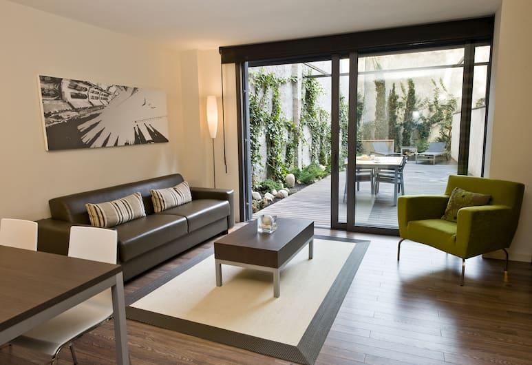 CASP74 Apartments, Барселона, Апартаменты, 3 спальни, терраса, Номер