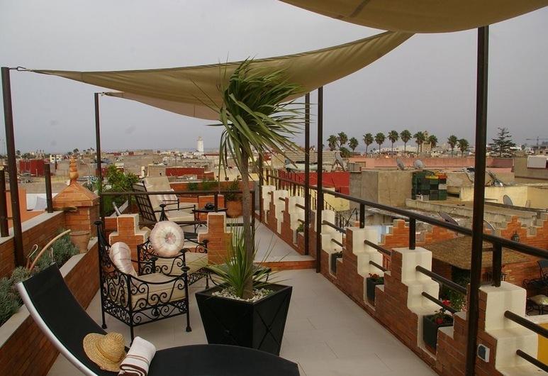 Riad Soleil d'Orient, El Jadida, Balkon