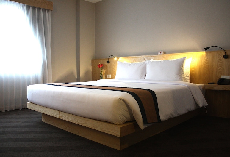 ホテル ヴィスタ エクスプレス, バンコク, デラックス ダブルルーム, 部屋