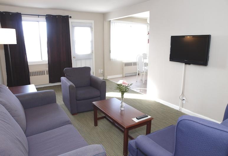 Beausejour Hôtel Appartements, Dorval, Standard Διαμέρισμα, 1 Υπνοδωμάτιο (one king sized bed ), Δωμάτιο