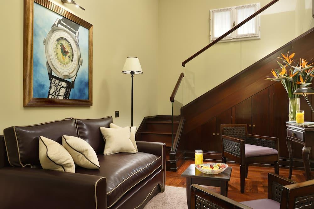 סוויטת ג'וניור (Duplex) - אזור מגורים