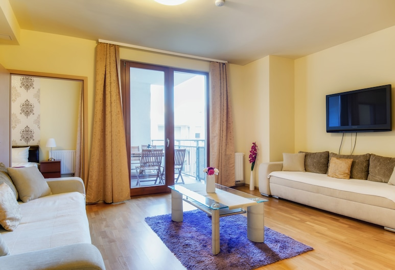 Trendy Deluxe Apartments, Budapeszt, Two Bedroom Superior Apartment (1-6 adults), Salon