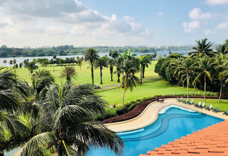 Orchid Country Club, Singapore, Izba typu Deluxe, Balkón