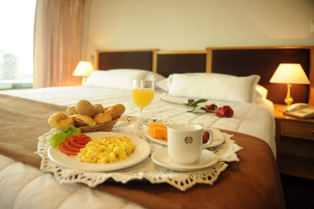 ห้องสแตนดาร์ด, เตียงควีนไซส์ 1 เตียง - บริการอาหารในห้องพัก