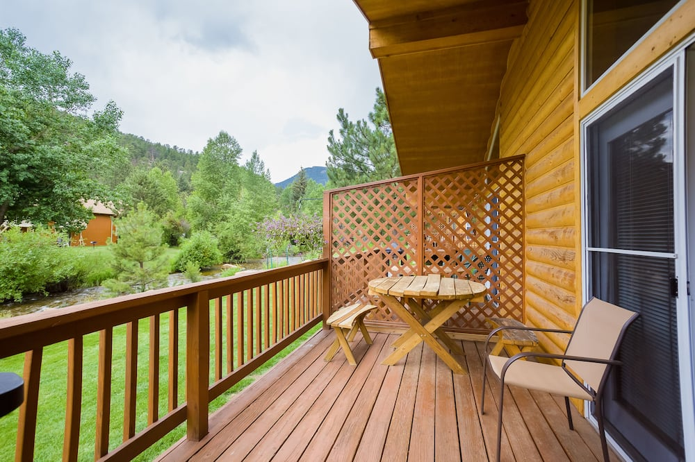Ferienhütte, 1 Schlafzimmer - Balkon