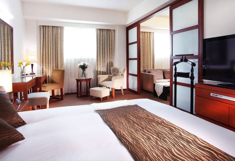 Gala Hotel, Taipei, Suite, 1 tweepersoonsbed, niet-roken (Elegant), Uitzicht vanaf kamer