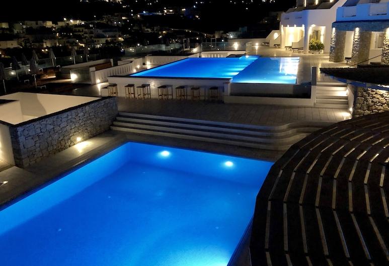 Acrogiali Beach Hotel, Mikonos, Alberca al aire libre