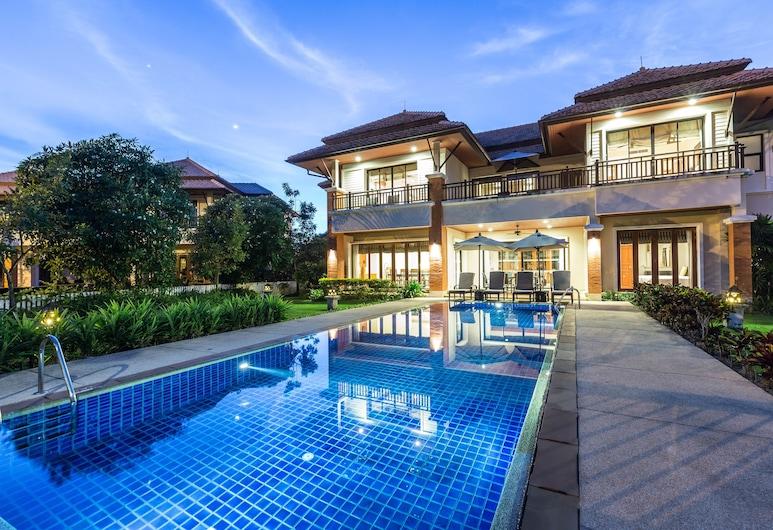 앙사나 빌라스 리조트 푸켓, Choeng Thale, 빌라, 침실 4개, 전용 수영장, 석호 전망, 객실