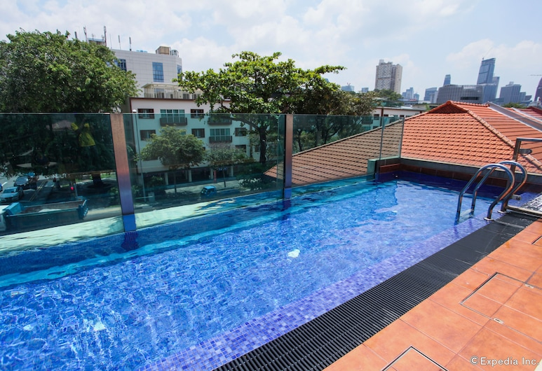 Nostalgia Hotel, Singapore, Zwembad op dak