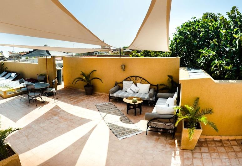 Riad Les Ammonites, Marrakech, Terraza o patio