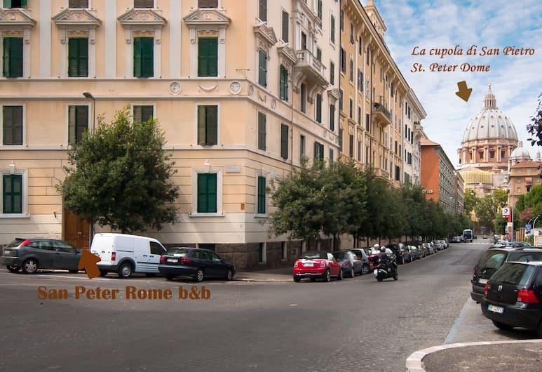 San Peter Rome B&B, Rom, Außenbereich