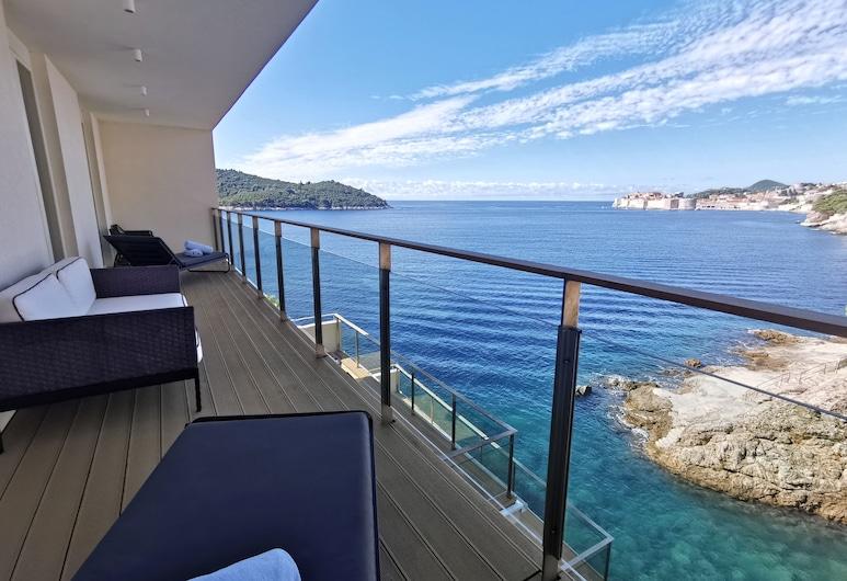 Villa Dubrovnik, Dubrovnik, Suite – standard, Utsikt fra gjesterommet