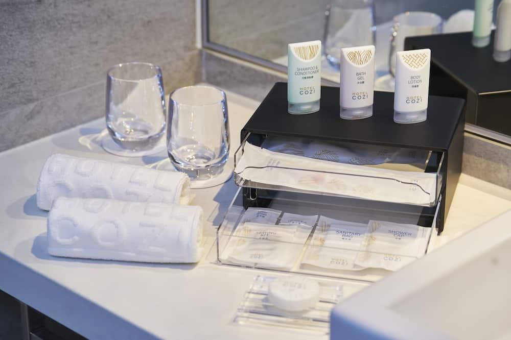 スーペリア ツインルーム シングルベッド 2 台 禁煙 - バスルーム