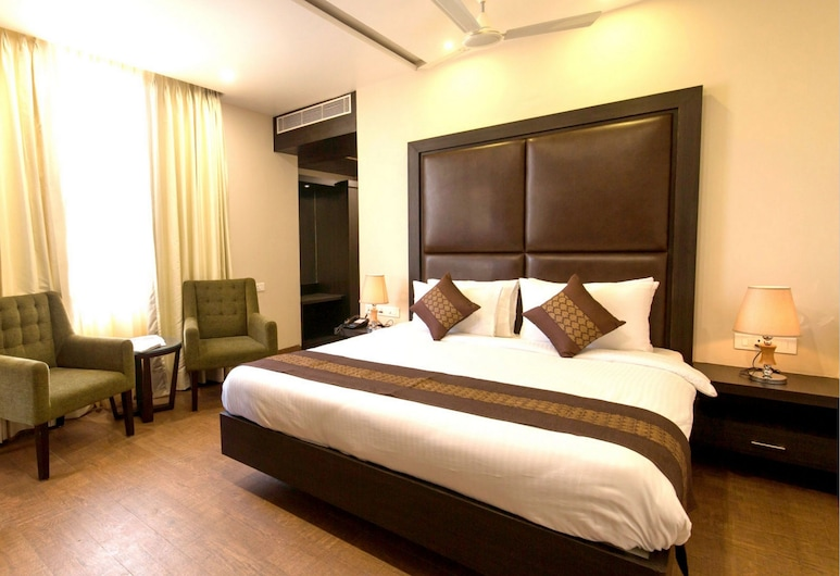Hotel The Livin, Jaipur, Quarto luxo, para não fumantes, Quarto
