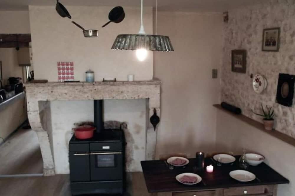 Maison, 3 chambres - Restauration dans la chambre